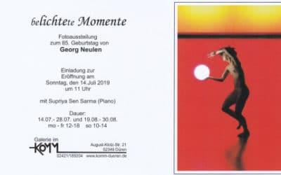 """Georg Neulen – Austellung """"Belichtete Momente"""""""